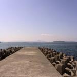 山口県下関市の地磯と堤防でアイナメ・チヌ釣り